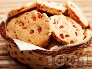 Рецепта Солени бисквити с червени чушки